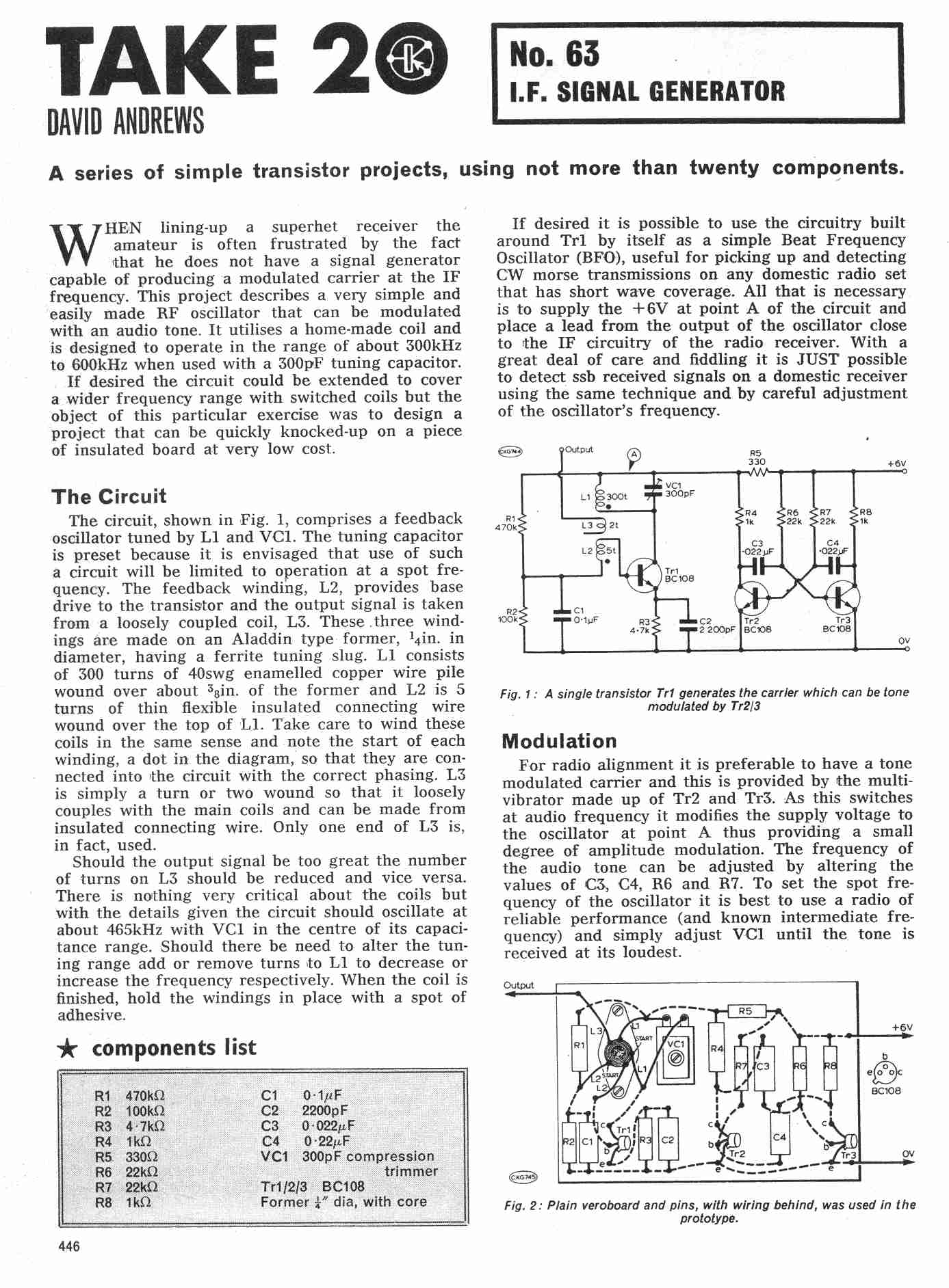 Neon Light Circuit Resistance Ask Answer Wiring Diagram Transistor Time Relay Ledandlightcircuit Vintage Radio And Electronics Take 20 Electronic Projects Bulb Circuits