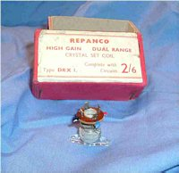 Repanco DRX 1. Crystal set coil