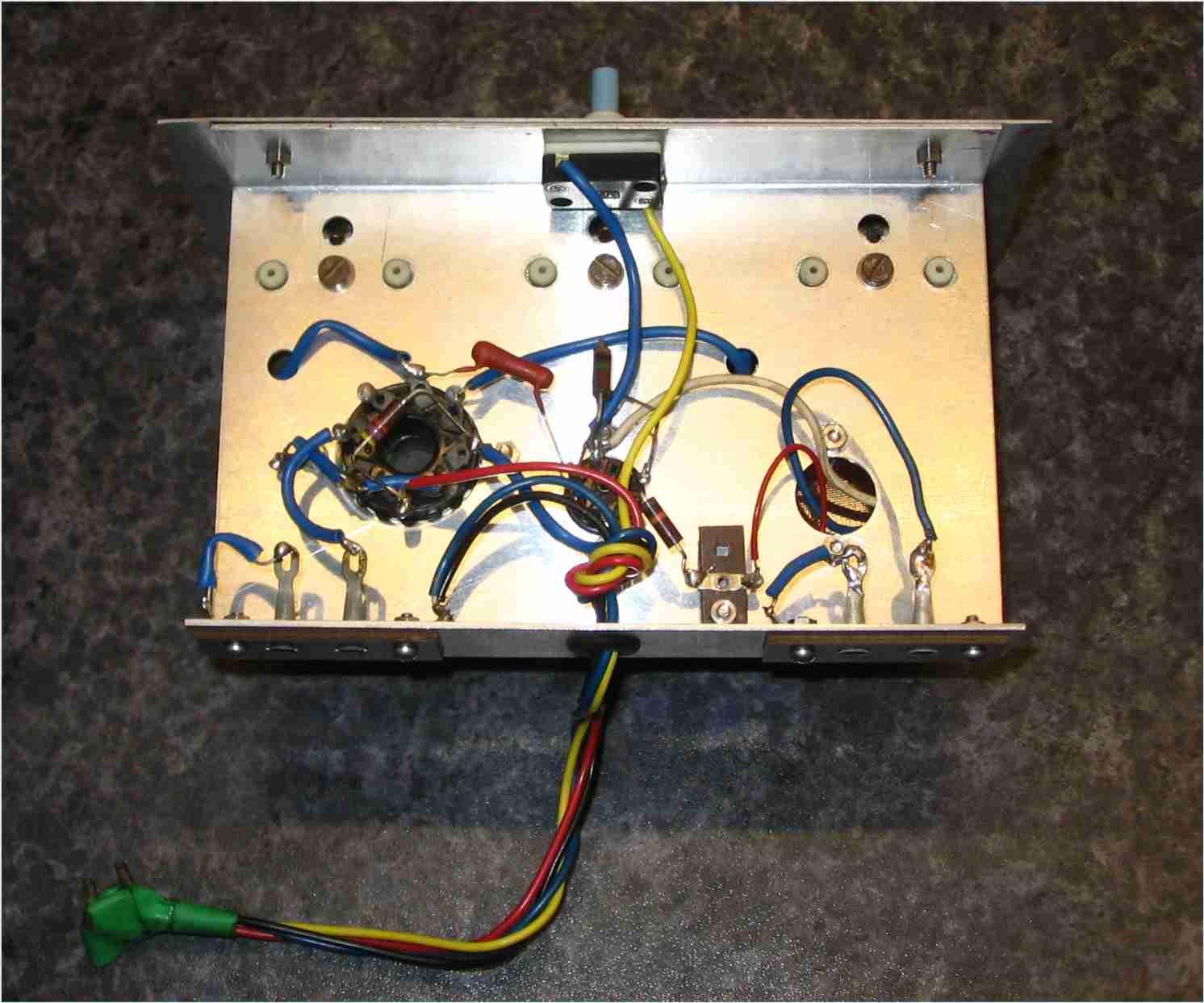 4 Transistor Fm Tracking Transmitter Circuit Diagram