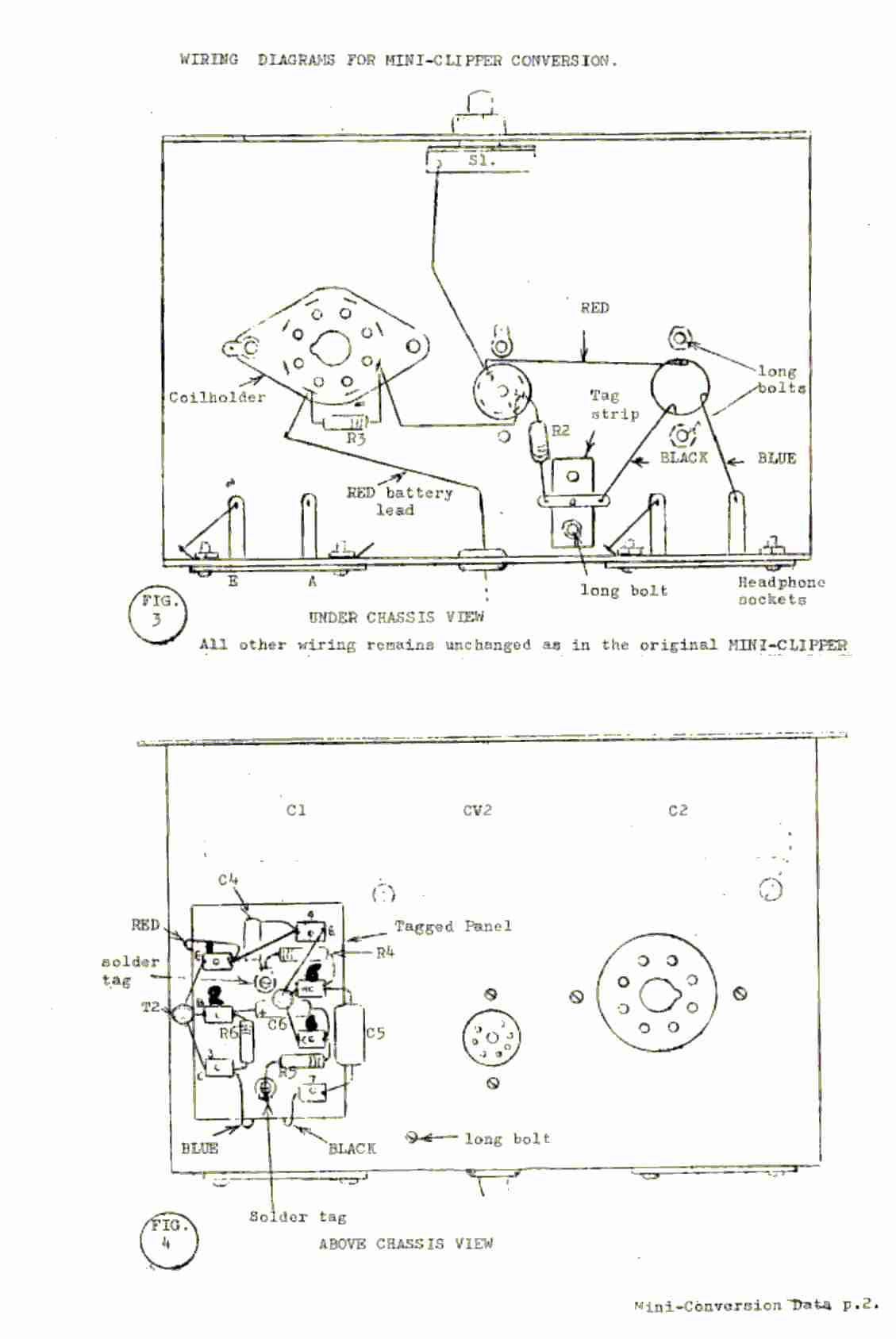 vintage radio and electronics  codar mini clipper receiver
