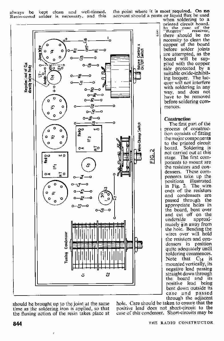 vintage radio and electronics  rcs regent four valve portable