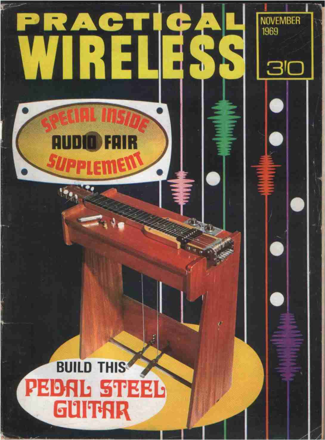 Vintage Radio And Electronics. Magazine Covers From 1969